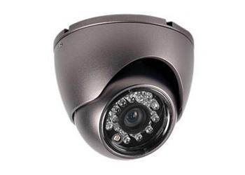 8 внутренних цветных купольных камер с разрешением 700 ТВЛ, с ИК подсветкой