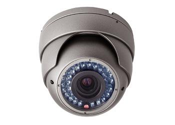 """1 цветная (функция """"день-ночь"""") внутренняя, купольная видеокамера 700 твл с ИК подсветкой"""