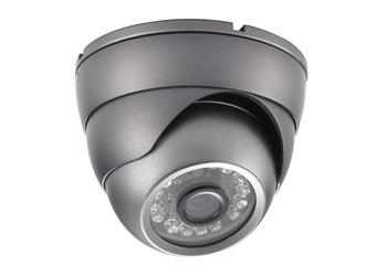 4 внутренние цветные купольные камеры с разрешением 700 ТВЛ, с ИК подсветкой