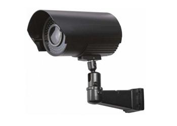 4 уличные цветные камеры с разрешением 700 ТВЛ, с ИК подсветкой