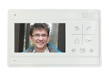 1 монитор видеодомофона, подключение до 2-х вызывных панелей