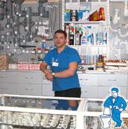 Установка систем безопасности в сети магазинов сантехники «Афоня»