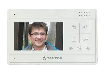 1 цветной сенсорный монитор видеодомофона, подключение до 2-х вызывных панелей