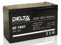 DT 1207 аккумулятор 7Ач 12В Delta