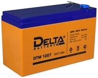 DTM 1207 аккумулятор 7Ач 12В Delta