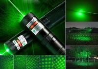 Супер мощная лазерная указка 1000 mW, зелёный луч