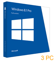 Microsoft Windows 8.1 Professional License Pack 3 PC